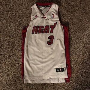Dwayne Wade Heat Jersey Authentic